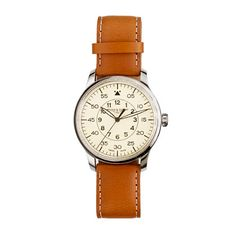 Mougin & Piquard™ for J.Crew Grande Seconde watch in cream | Ending Soon! A Very Secret Pinterest Sale: 25% off any order at jcrew.com with code SECRET.