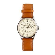 $425 @ J. Crew. Mougin & Piquard™ for J.Crew Grande Seconde watch in cream