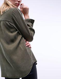 Camisa con bolsillos - Camisas | Stradivarius España