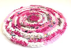 A personal favorite from my Etsy shop https://www.etsy.com/listing/473642136/handmade-rag-rug-round-crocheted-rugs