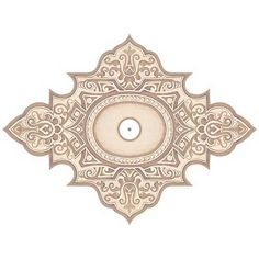 """Somerset Giclee 48"""" Wide Repositionable Ceiling Medallion - #Y6583   Lamps Plus"""