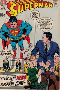 Uncertified DC Silver Age Superman Comics Not Signed Comic Books For Sale, Dc Comic Books, Comic Book Covers, Comic Book Characters, Comic Art, Dc Comics, Action Comics 1, Avengers Comics, Funny Comics