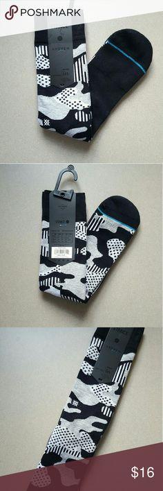Stance Smokey Socks - L NWT Stance Smokey Socks size L (9 - 13).  Smoky design and stealth black and Grey pattern. Stance Underwear & Socks Casual Socks