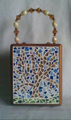 Cigar Box Purse Mosaic Tree by BruyetteBags on Etsy, $90.00