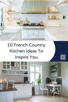 The thing we love most about french country style is how it combines charm and modesty with a good rustic touch. Have a look at our 10 french country kitchen ideas and be inspired by the rustic charm of this decor style.