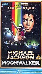 For Sale - Michael Jackson Moonwalker UK  video (VHS or PAL or NTSC) - See this and 250,000 other rare & vintage vinyl records, singles, LPs & CDs at http://eil.com