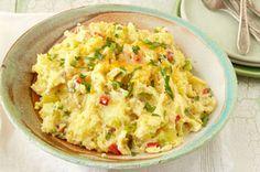 Fiesta Smashed Potatoes recipe