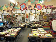 Teacher Bits and Bobs: Open House Rainforest! Rainforest Preschool, Rainforest Classroom, Jungle Theme Classroom, Future Classroom, Classroom Themes, Classroom Organization, Classroom Management, Preschool Open Houses, Welcome To The Jungle