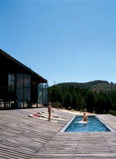 Alberca Terraza Bosque