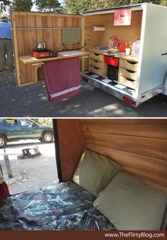 72 Best Ideas To Turn Horse Trailer Into Camper Images