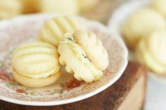 Passionfruit melting moments