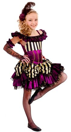 can can sally tween girls costume halloween costumes - Can Can Dancer Halloween Costume