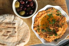 Spicy red lentil spread is an easy and delicious vegan appetizer.