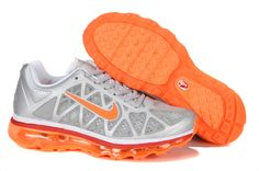 quality design 29365 3eacf Buy Latest Listing Womens Nike Air Max 2011 Metallic Silver White Solar Red Total  Orange Sneakers Your Best Choice