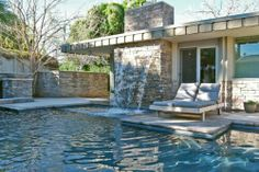 Updated Mid Century - Pools were a must and the back of house glass sliders, french doors and-or large windows.