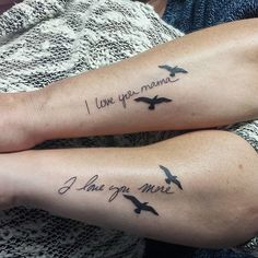 mother daughter tattoo ideas pictures 14