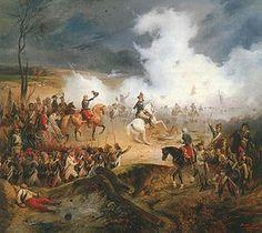 Batalla de #Valmy,el 20 de septiembre de #1792. El ejército francés del Norte, comandado por Charles François Dumouriez, y el ejército francés del Centro, liderado por François Christophe Kellermann, detuvieron el avance del ejército prusiano, dirigido por Carlos Guillermo Federico de Brunswick-Lunebourg