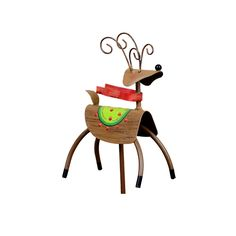 Red Scarf Reindeer The Round Top Collection C9025