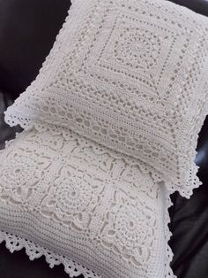Kussens (met link naar gratis patronen) / cushion (with link to free patterns)
