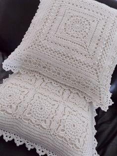 Kussens (met link naar gratis patronen) / cushion (with link to free patterns)