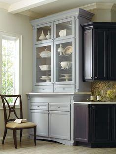 Corina cabinets. Thomasville. Light blue vintage style cabinetry. Amazing.