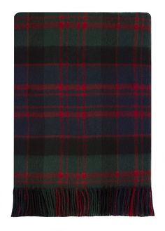 MacDonald Clan Modern Tartan Blanket - tartanand clan.com