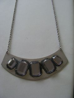 WOW Fab Space Age Statement Necklace   eBay