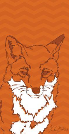 Fox - 2014 [digital drawing]   More Artwork on MederMade.wordpress.com - Portfolio: KendraMeder.wordpress.com