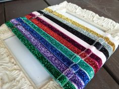 Adjustable Glitter Elastic Headbands by HairAccessoriesByMeg, $14.25