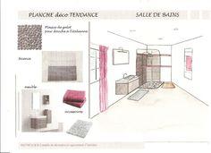Planche deco salon 14 planches de tendance pinterest salons d co et album - Croquis de salle de bain ...