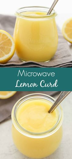 An easy recipe for l An easy recipe for lemon curd made in the microwave. This Microwave Lemon Curd is so simple to make delicious and there are so many different ways to use it! Microwave Lemon Curd, Easy Lemon Curd, Lemon Curd Recipe, Lemon Curd Filling, Lemon Custard, Recipes Using Lemon Curd, Lemon Trifle, Lemon Curd Cake, Lemon Desserts