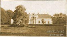Mołodów - oficyna Z XVIIw W 1911 Szkoła Gospodarstwa Kobiecego Kliknij aby zobaczyć pełny rozmiar