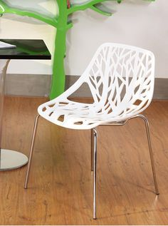 Simple modern plastic chair chair creative personality fashion hollow tree chair chair chair Chair plants-in Shampoo Chairs from Furniture on Aliexpress.com | Alibaba Group