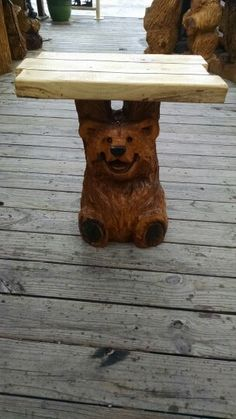 """Bear tables 24"""" 30"""" and 36"""" tall"""