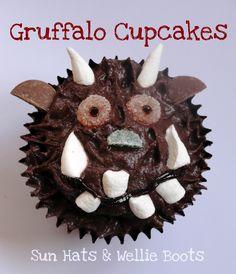 Oh help! Oh no! It's the Gruffalo!! Sun Hats & Wellie Boots: Gruffalo Cupcakes