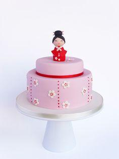 Peace of Cake - Geisha cake