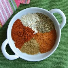 Homemade Chili Seasoning - Two tablespoons equals one of those packets you buy at the store.  Use it in chilies, tacos, casseroles, bean patty mixes and more!