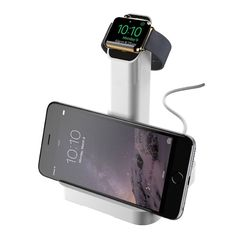 Designed for bedside, tabletop or desktop use, makes charging your Apple Watch effortless. Just lay your Apple Watch against the angled cradle. The MagSafe connector's magnet gently snaps itself onto the back of your Apple Watch and begins charging. Your charging cable is always where you need it and oriented for perfect contact between the MagSafe connector and the back of the watch. Accommodating both semi-flexible and fully flexible bands, WatchStand securely displays and charges your…