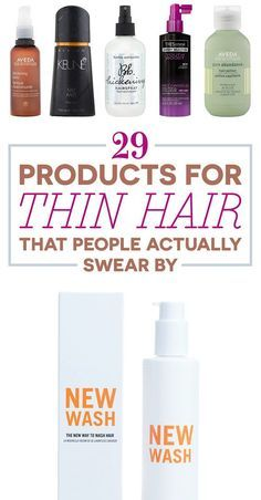 29 Products For Thin Hair That People Actually Swear By
