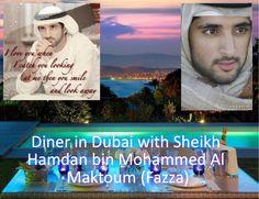 Jolijda: Diner in Dubai with Sheikh Hamdan bin Mohammed Al Maktoum (Fazza)
