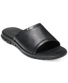 e3cde1ebeea7 Cole Haan Men s Zerogrand Strap Slide Sandals Men - All Men s Shoes - Macy s