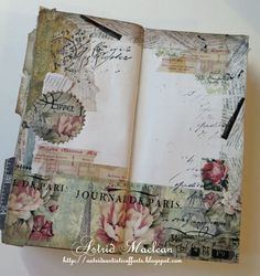 Astrid's Artistic Efforts: My Poor neglected Everyday Journal Journal Paper, Scrapbook Journal, Scrapbook Page Layouts, Junk Journal, Scrapbook Pages, Scrapbooking, Journal Art, Travel Journal Pages, Bullet Journal Ideas Pages
