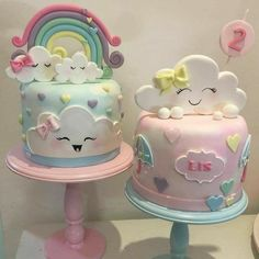 trendy Ideas for baby shower cake cute birthday parties Baby Cakes, Baby Shower Cakes, Girl Cakes, Cake Girls, Pretty Cakes, Cute Cakes, Beautiful Cakes, Beautiful Beautiful, Fondant Cakes
