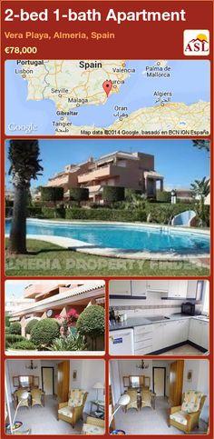 2-bed 1-bath Apartment in Vera Playa, Almeria, Spain ►€78,000 #PropertyForSaleInSpain