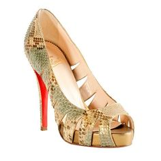 Christian Louboutin Shoes are no joke.  There are pre-owned