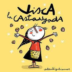 Poesia Infantil i Juvenil: poemes de castanyes Valencia, Doodle Icon, Cute Doodles, Samhain, Halloween, Celtic, Mickey Mouse, Disney Characters, Fictional Characters