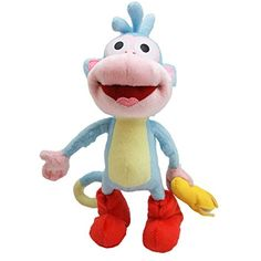 """Dora the Explorer Boots with Banana 10"""" Plush * Click image to review more details. (This is an affiliate link) #Puppets"""