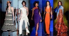A letisztult vonalak és a néhol erőteljes színek jellemzik a 2017-es tavaszi haute couture vonalat. Érdemes szemezgetni belőle ...