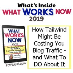 Using Tailwind for Pinterest automation?  Important info for Pinterest bloggers Make Money Blogging, Earn Money, How To Make Money, How To Get, Teaching Style, What Works, Saving Tips, Time Saving, Blogger Tips