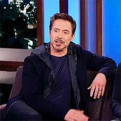 "Robert Downey Jr. and his wink, on ""Jimmy Kimmel Live,"" Nov. 24, 2015."